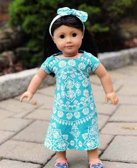 Doll Swing Dress Love Notions Sewing Patterns