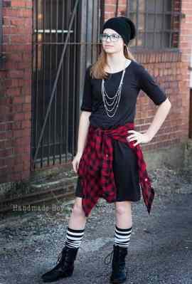 Prisma a-line dress