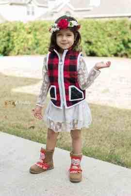 girls vest pattern