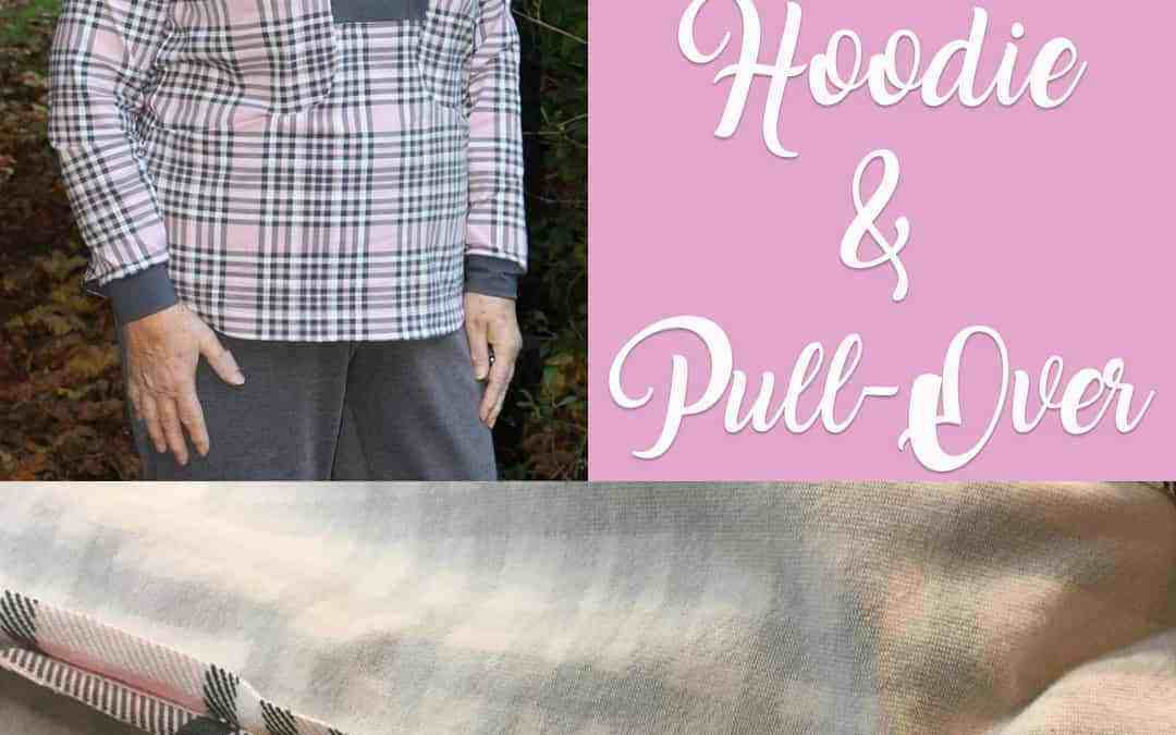 Plaid matching with the Whistler Pull-Over & Hoodie