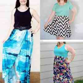 bluezette maxi dress