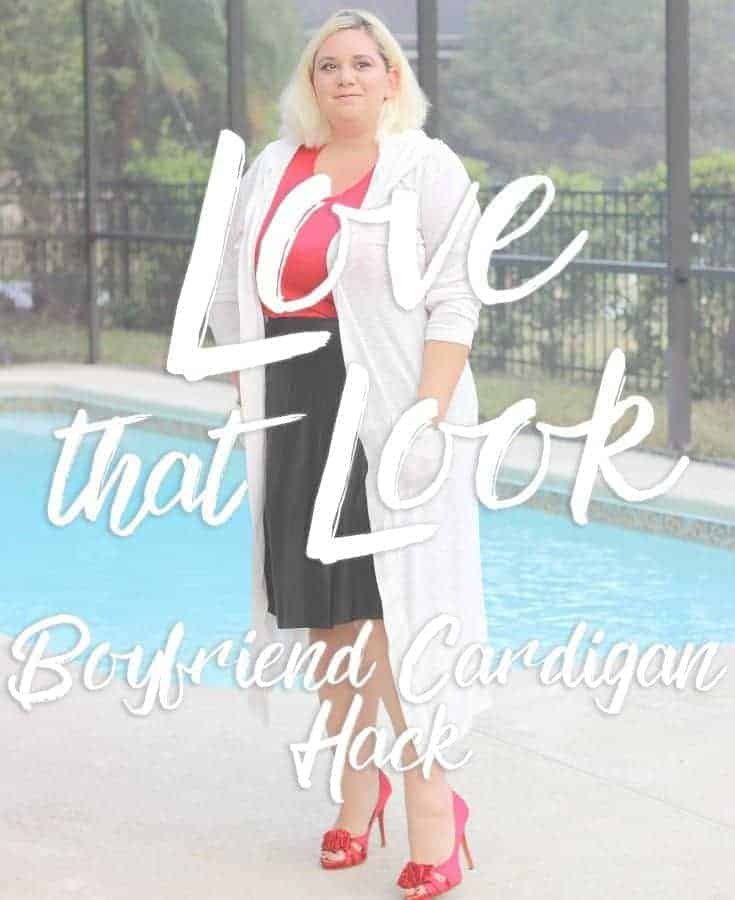 Love that look – Boyfriend cardigan
