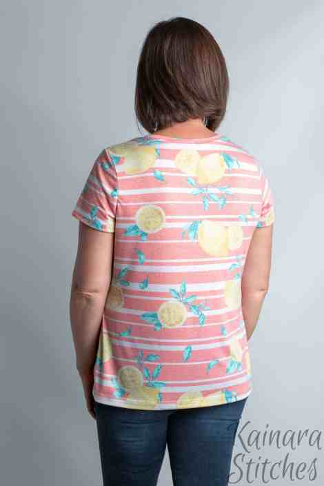 easy tee sewing pattern