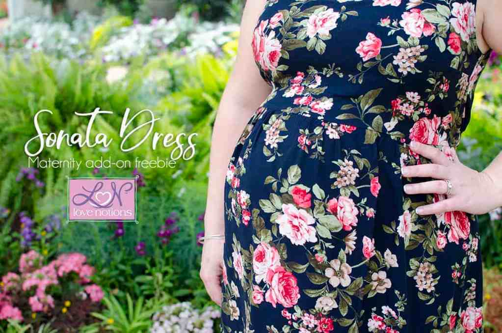 Sonata Dress Maternity Hack