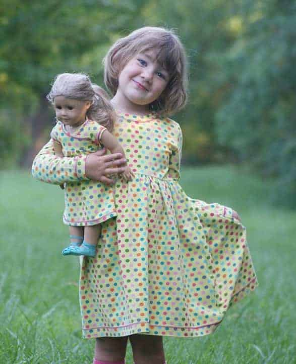 Doll Everyday Playdress - Love Notions Sewing Patterns