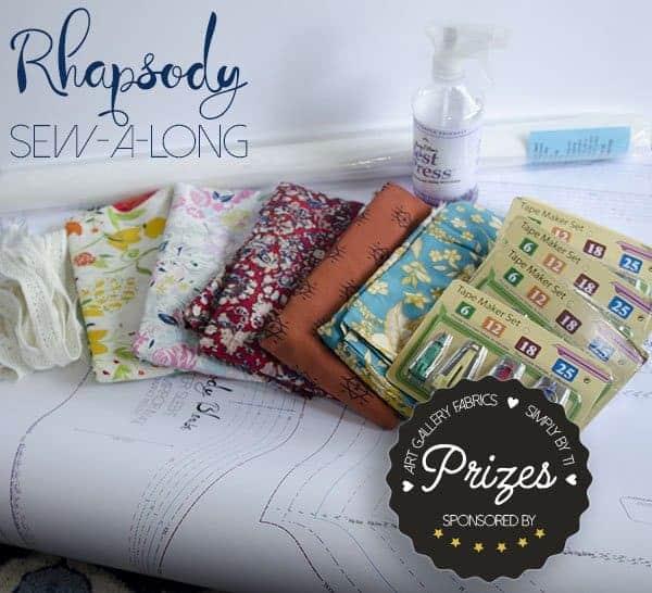 Rhapsody Sewalong prizes