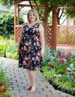 Free maternity dress pattern