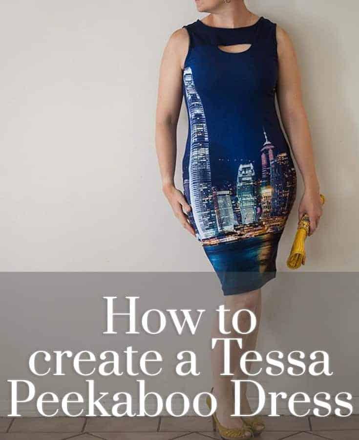 How-To: Tessa Peekaboo Dress