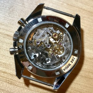 Manual wind mechanical movement (no rotor)