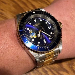 PG's Invicta homage to Rolex Submariner two-tone