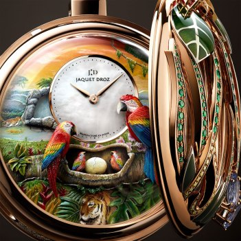 Jaquet Droz Parrot Repeater Pocket Watch