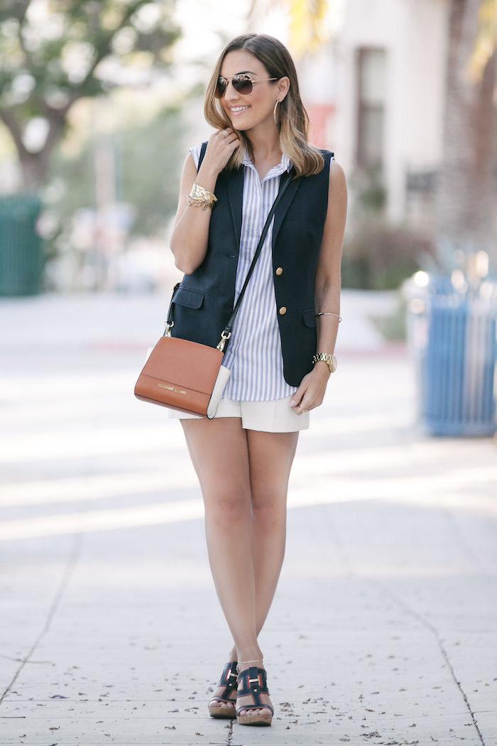 Blue White Nautical Outfit