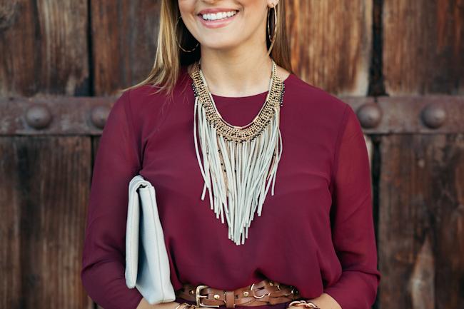 dynamite style necklace