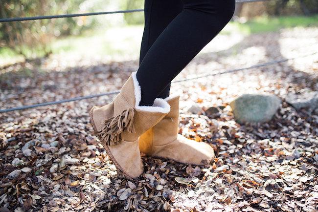 madden girl fringed boot