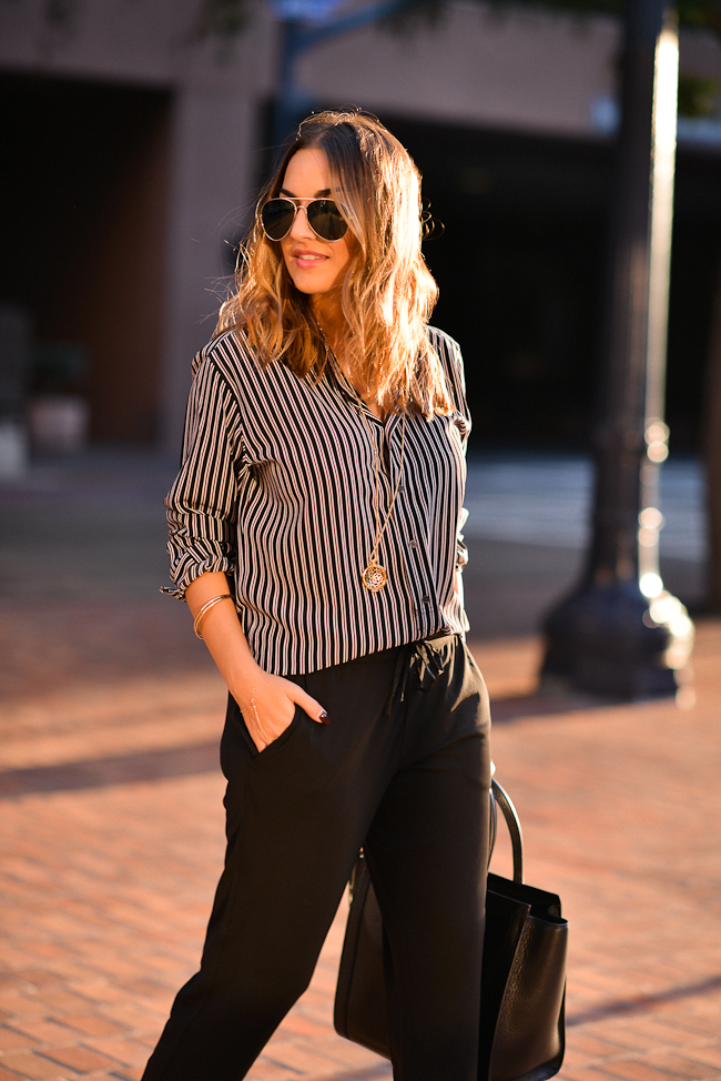 ralph lauren striped top