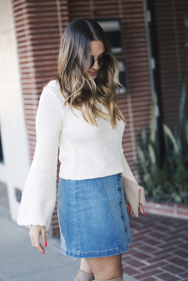 Cropped Sweater Forever21