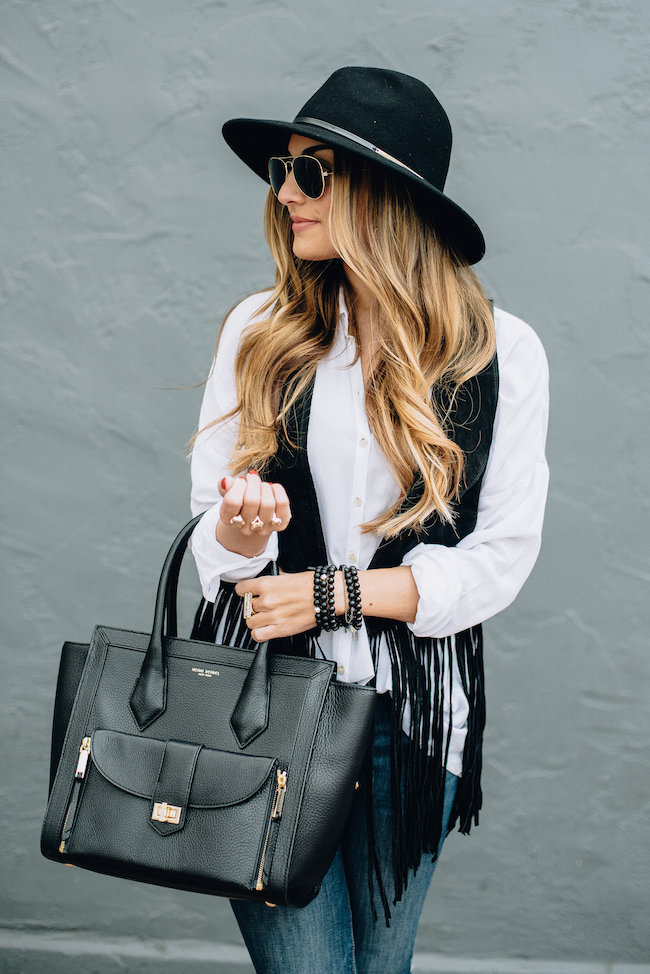 boho outfit look