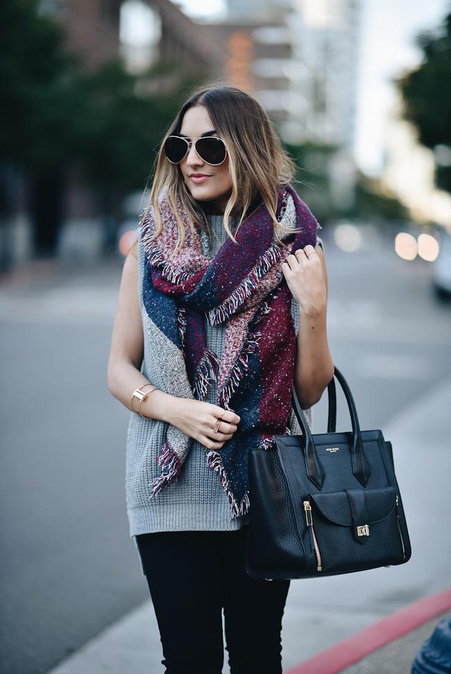henri bendel black tote bag san diego style fashion blogger