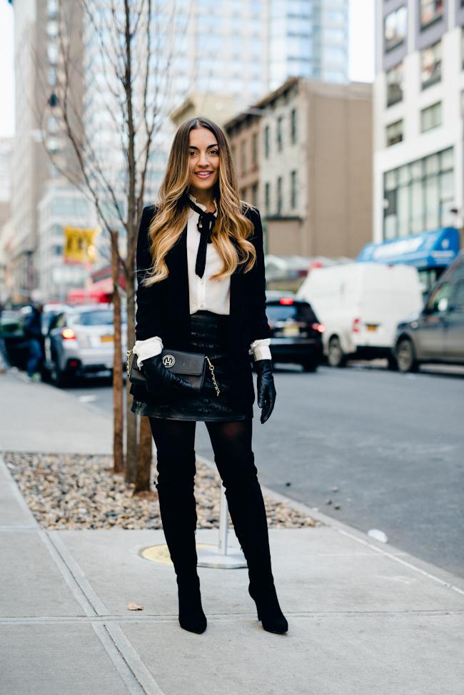 Black White Fashion Outfit