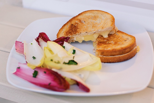 Blue Apron Grilled Cheese