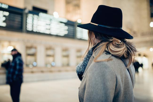 Fedora Wide Brim Hat Olia