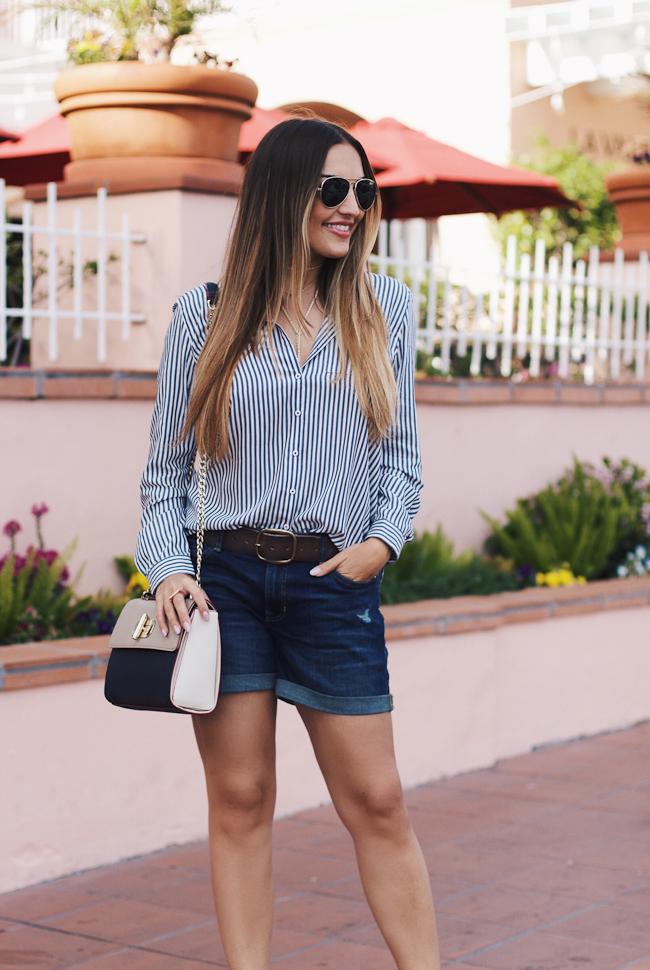 Olia Gap Shorts