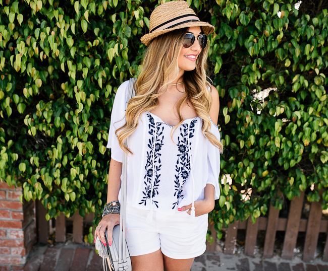 spring white outfit