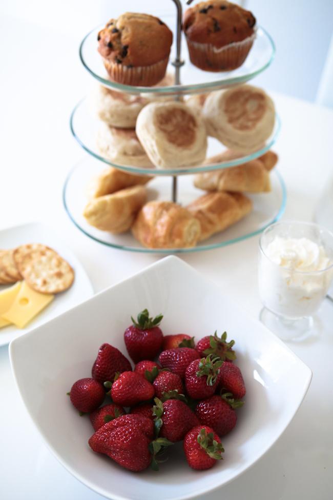 Strawberries Pastries