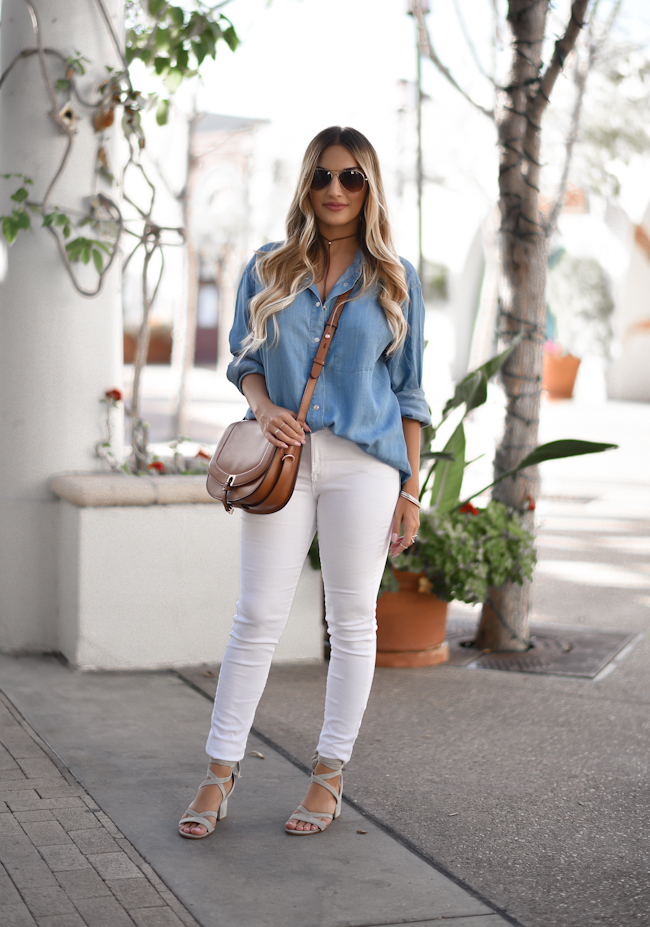 Chambray and White 1