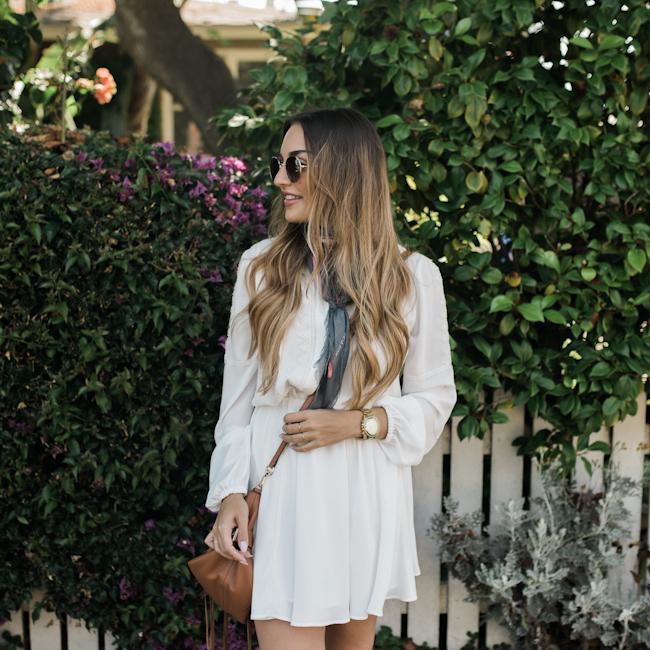 Rebecca Minkoff White Dress-6