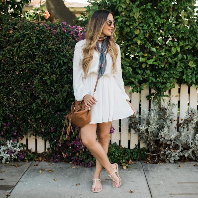 Rebecca Minkoff White Dress-7