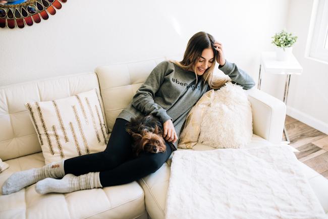 henri bendel comfy at home outfit