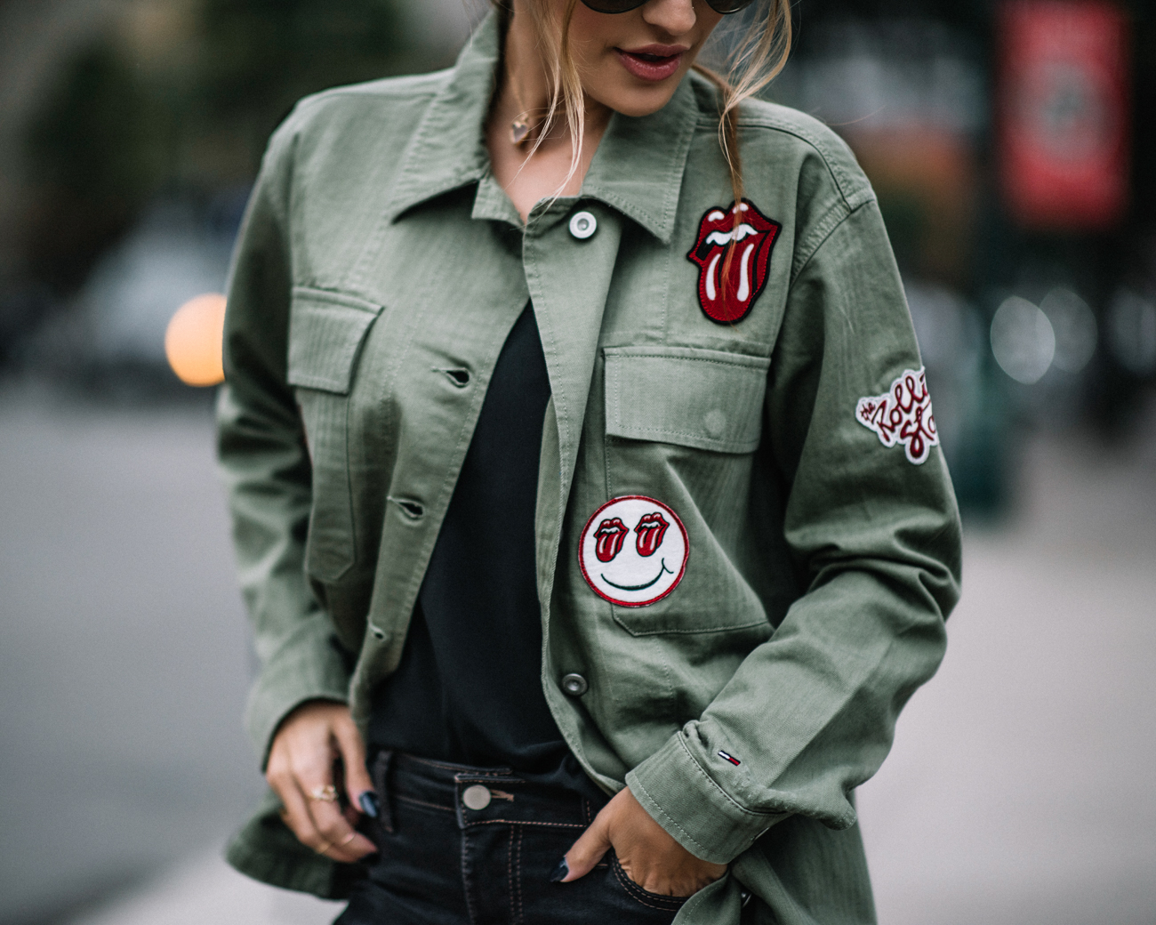 Rolling Stones Military Jacket