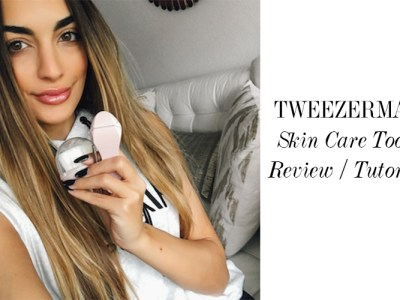 Tweezerman Skin Care Tools Review/Tutorial