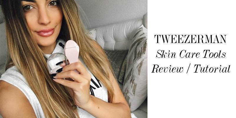 Tweezerman Skin Care Tools Review/Tutorial