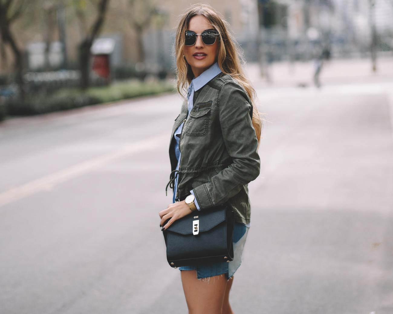 GAP Olive Military Jacket