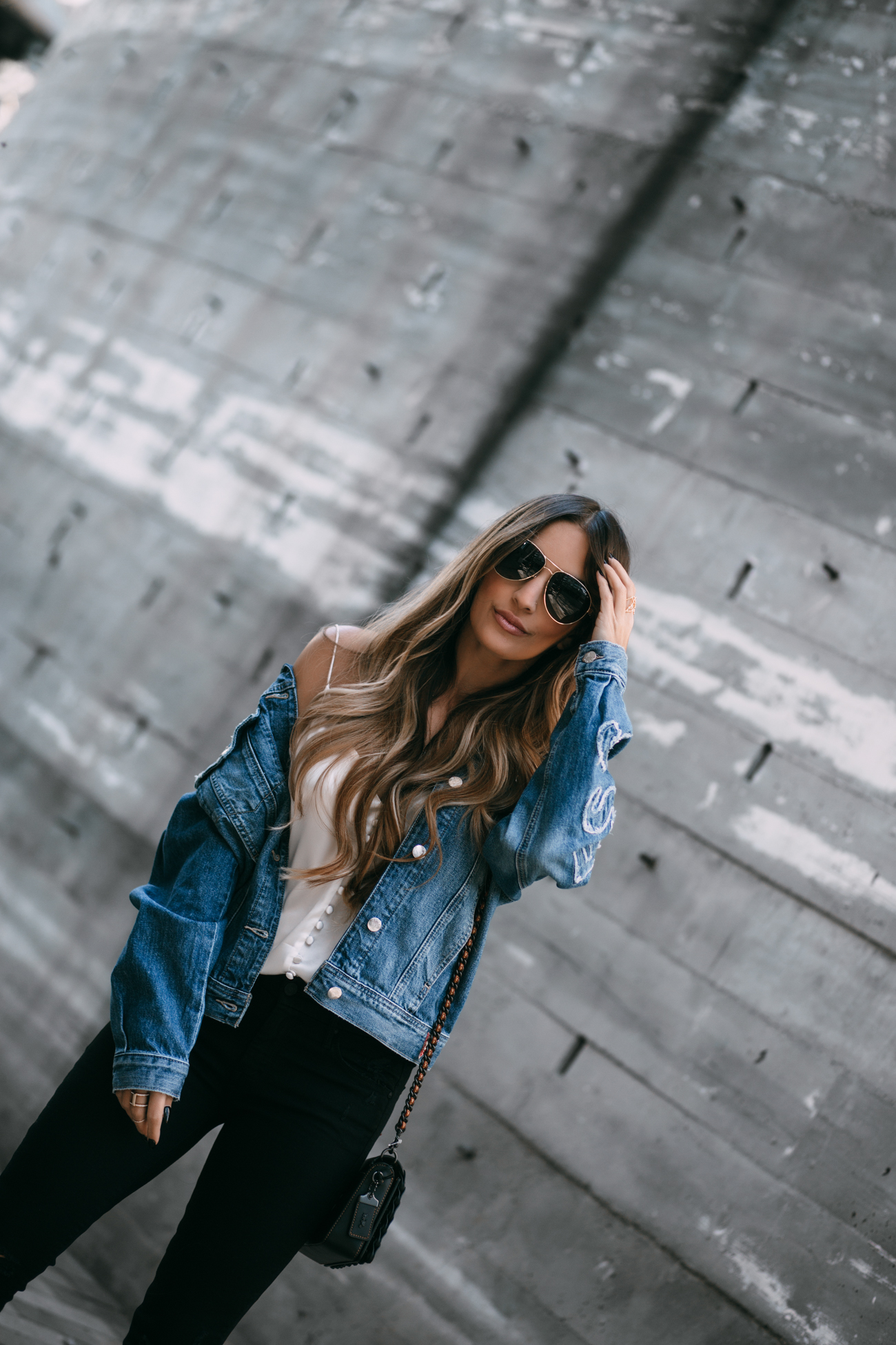 Guess Denim Jacket suffer from anxiety
