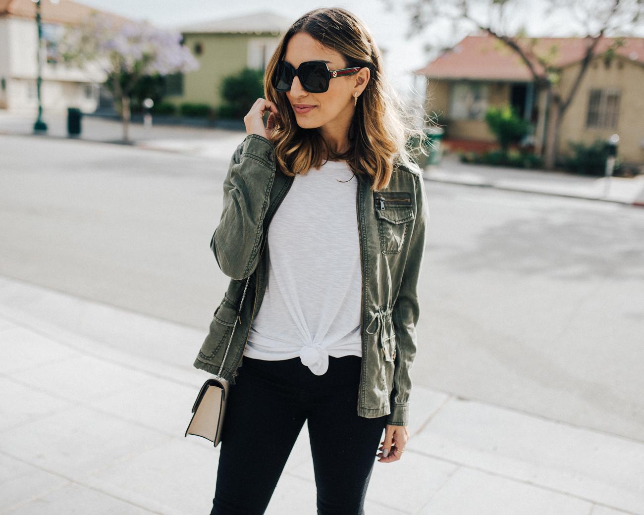 Military Olive Jacket