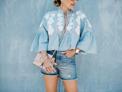 The Perfect Embroidered Top