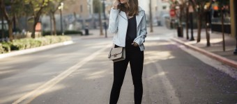 The Perfect White Leather Jacket