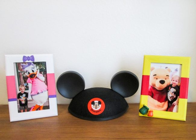 Easy DIY Disney Character Frames