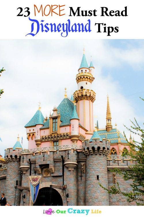 23 more Disneyland tips for your vacation. Must read before you visit the park!