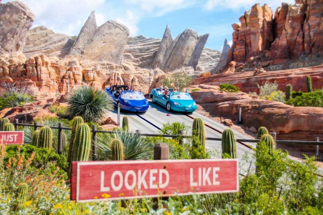 Springtime at Disneyland Radiator Springs Racers in Cars Land