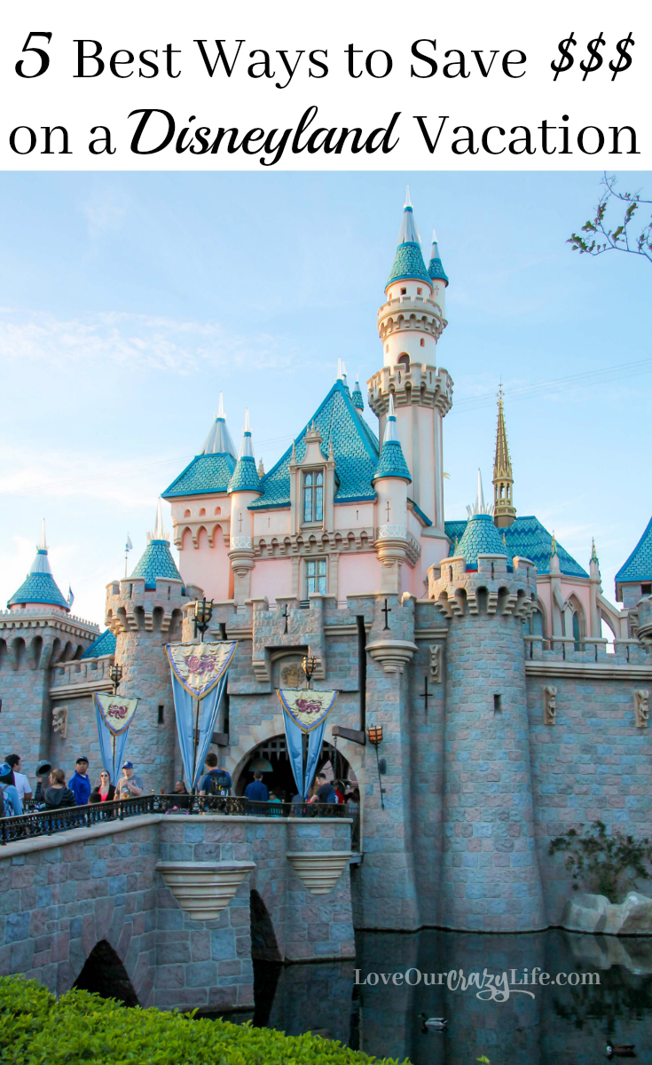 Best ways to save money on a Disneyland Vacation. Great tips on saving on food, hotel, and more.Disneyland | Disney | Vacation | Family Travel | Travel With Kids | Save Money |