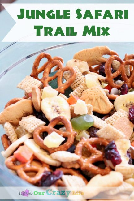 Jungle Safari Trail Mix