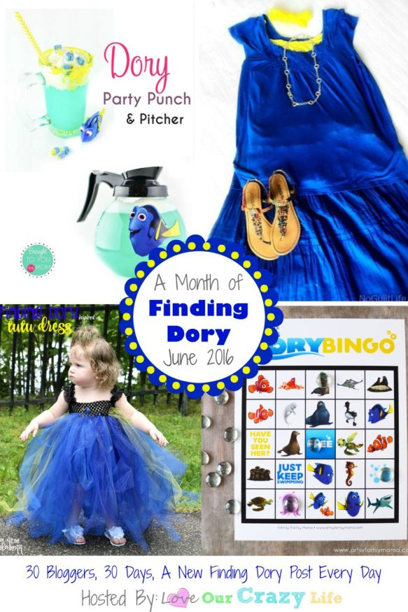 Join 30 bloggers over 30 days for a full month of Finding Dory themed posts. From trivia, to crafts, to homeschooling units and more!
