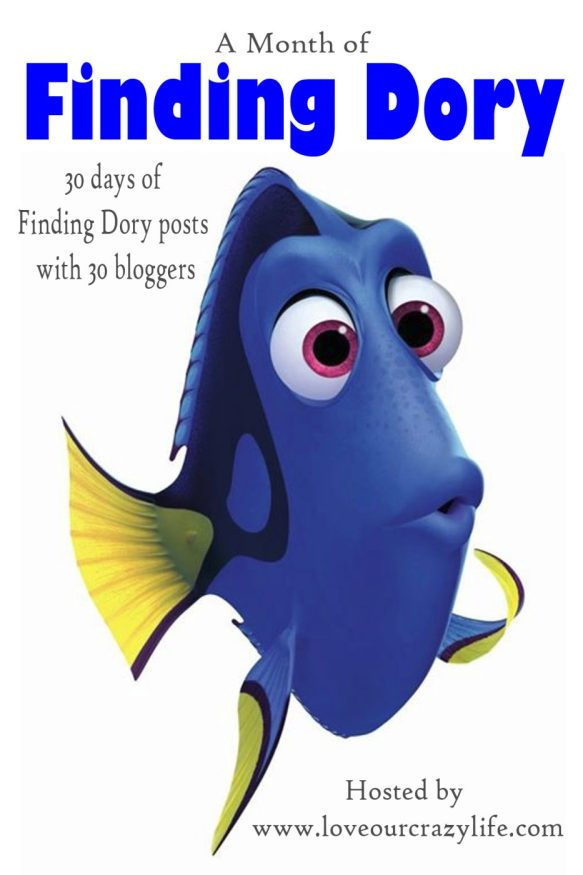We are joining 29 other bloggers to bring you a full month of Finding Dory posts. This is where you can find links to every Finding Dory post for the month of June!