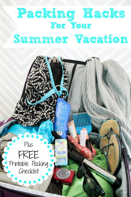 Packing Hacks for Your Vacation (Free Packing Checklist Included)
