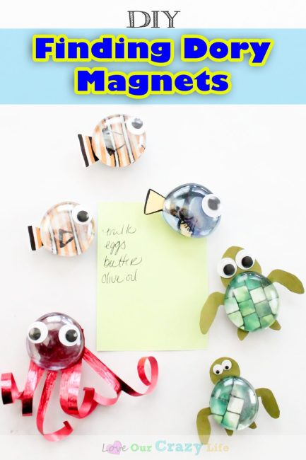 DIY Finding Dory Magnets