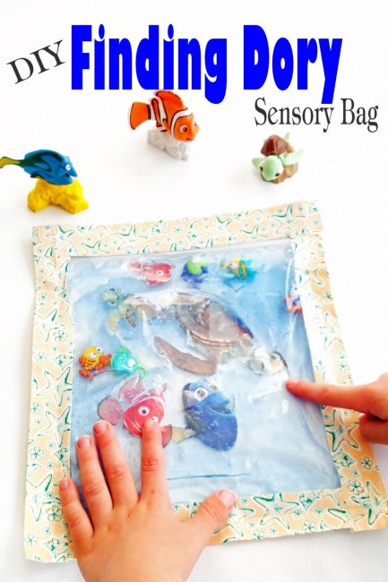 DIY Finding Dory Sensory Bag